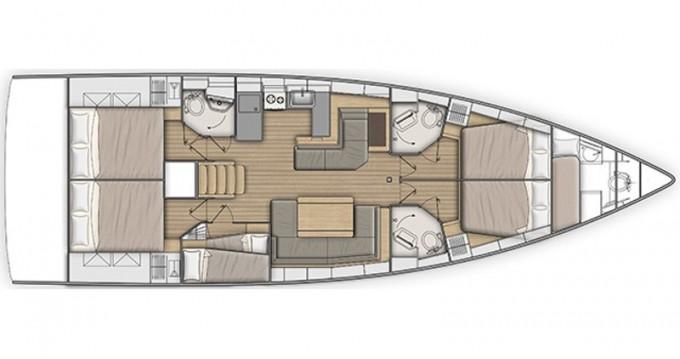 Location bateau Follonica pas cher Oceanis 51.1