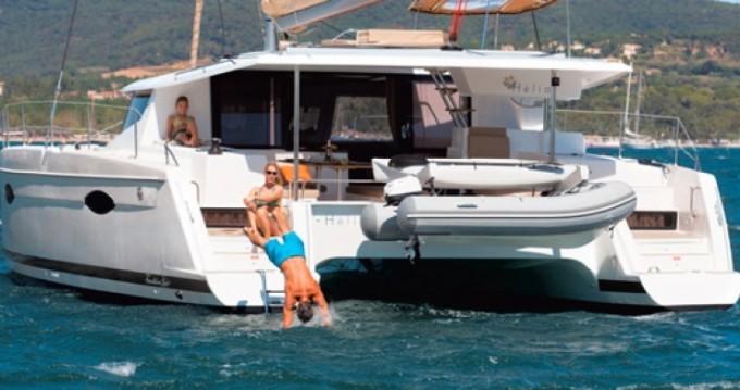 Louer Catamaran avec ou sans skipper Helia à Le Marin