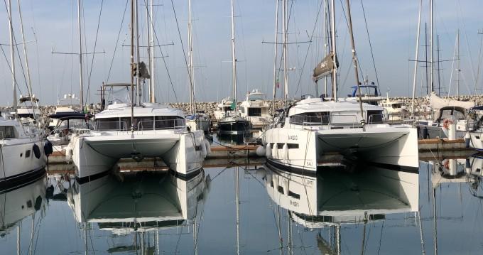 Location Catamaran à Salerno - Bali Catamarans Bali 4.1
