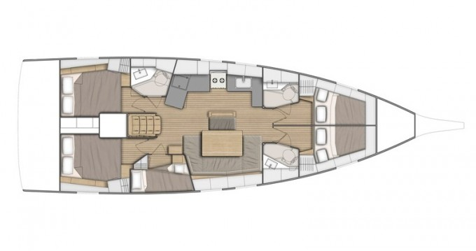 Bénéteau Oceanis 46.1 entre particuliers et professionnel à Follonica
