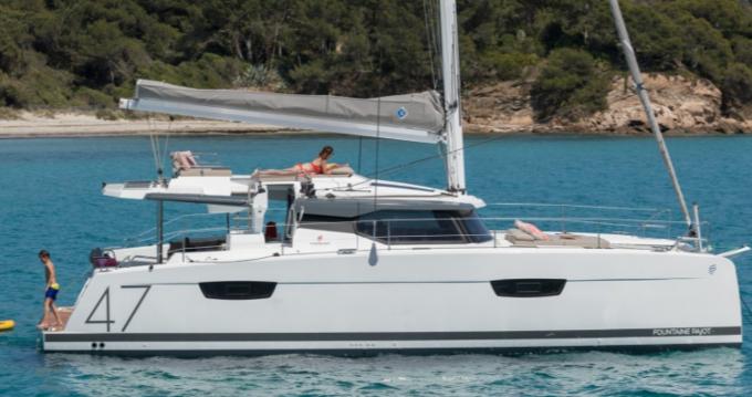 Location Catamaran à Île d'Ibiza - Fountaine Pajot Saona 47