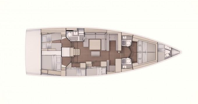 Location Voilier à Marina di Portorosa - Dufour Dufour 530 Grand Large