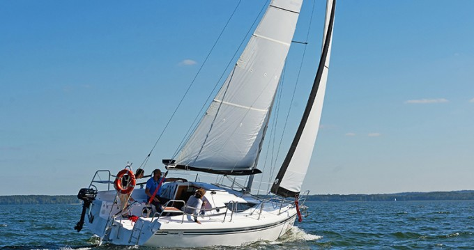 Location bateau Northman Maxus 28 Prestige + à Wilkasy sur Samboat