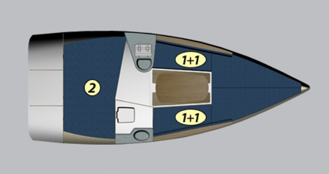 Location bateau Northman Maxus 22 Prestige à Wilkasy sur Samboat