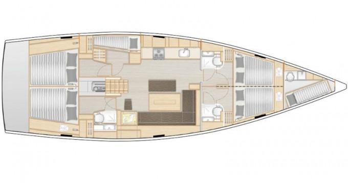 Location yacht à Lávrio - Hanse Hanse 508 sur SamBoat