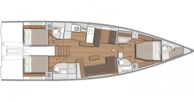 Location Voilier à Lávrio - Bénéteau First Yacht 53