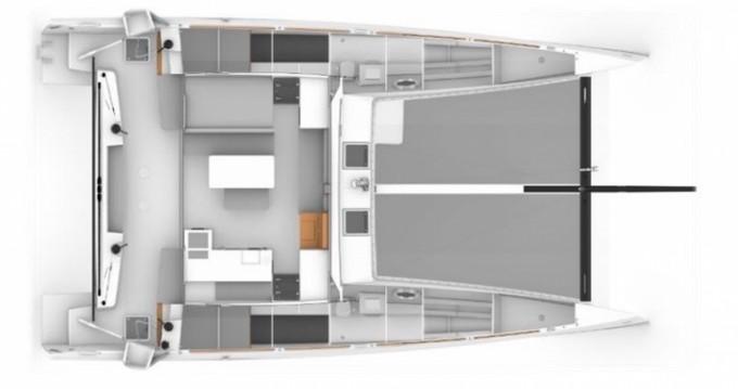 Louer Catamaran avec ou sans skipper  à Pléneuf-Val-André