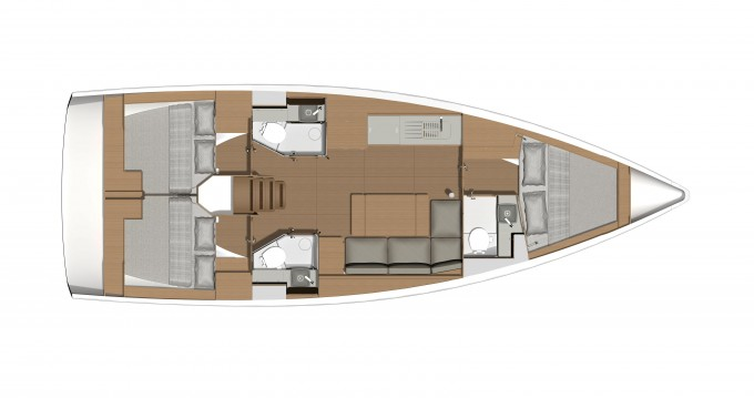 Louez un Dufour Dufour 390 Grand Large à Port de Lefkada