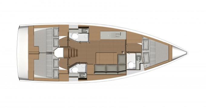 Location bateau Dufour Dufour 390 Grand Large à Port de Lefkada sur Samboat