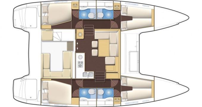 Location Catamaran à Préveza - Lagoon Lagoon 400 S2