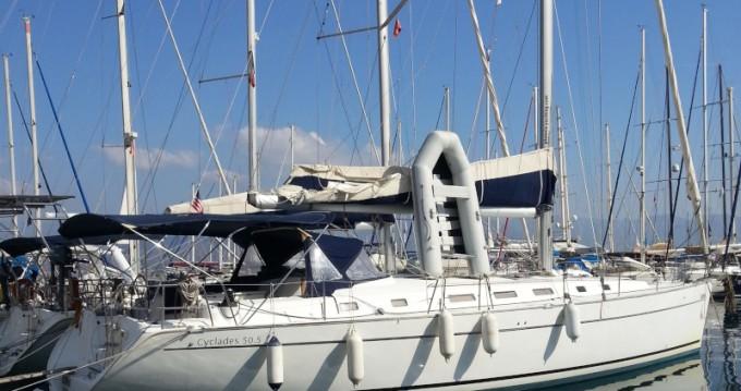 Location bateau Volos pas cher Cyclades 50.5