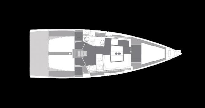 Location bateau Elan E5 à Biograd na Moru sur Samboat