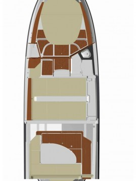 Location bateau Quicksilver Quicksilver 855 Weekend à Zadar sur Samboat