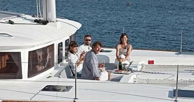 Location bateau Port Grimaud pas cher Lagoon 450
