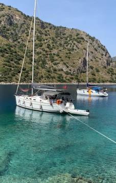 Location bateau Bénéteau Cyclades 39.3 à Fethiye sur Samboat