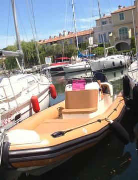 Louer Semi-rigide avec ou sans skipper Rib à Port Grimaud