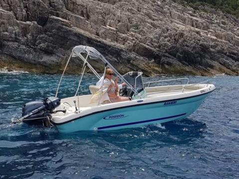 Louer Bateau à moteur avec ou sans skipper Poseidon à Zakynthos (Île)