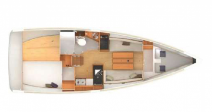 Location yacht à Golfe-Juan - Jeanneau Sun Odyssey 349 sur SamBoat