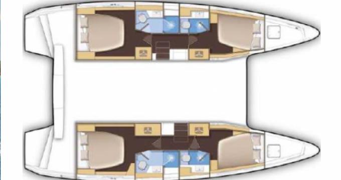 Louer Catamaran avec ou sans skipper Lagoon à Saint-Raphaël