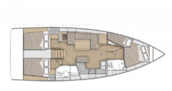 Location bateau Toulon pas cher Oceanis 40.1