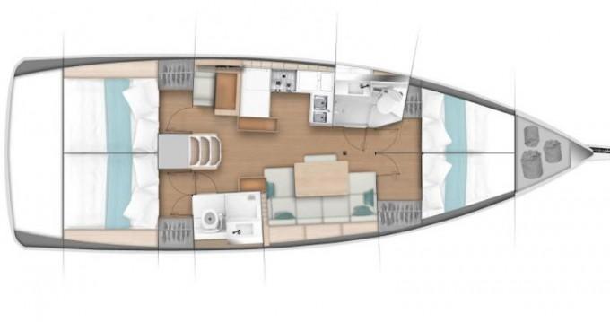 Location bateau Lávrio pas cher Sun Odyssey 440