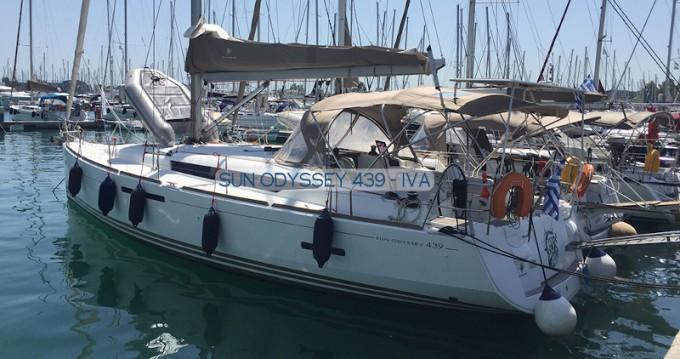 Location bateau Préveza pas cher Sun Odyssey 439