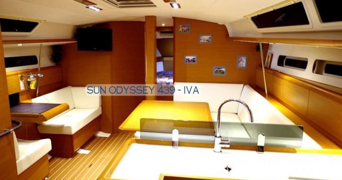 Jeanneau Sun Odyssey 439 entre particuliers et professionnel à Préveza