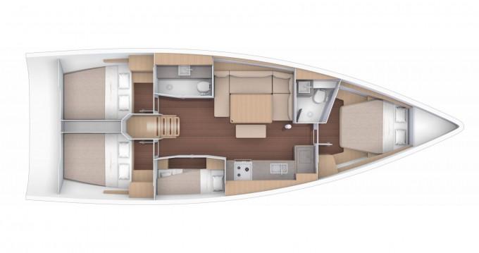 Dufour Dufour 430 Grand Large entre particuliers et professionnel à Marina di Portorosa