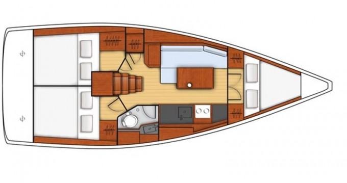 Location bateau Bénéteau Oceanis 35.1 à Castiglioncello sur Samboat