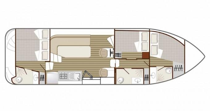 Location yacht à Dole -  Confort 1100 sur SamBoat