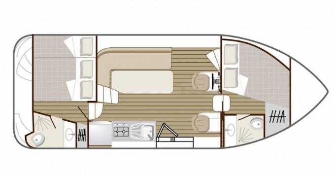 Location bateau Avignonet-Lauragais pas cher Confort 900 DP