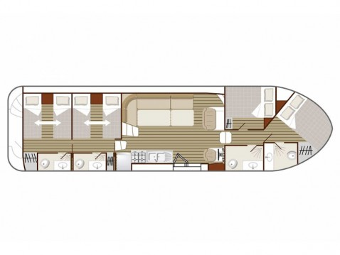Location bateau  Confort 1350 B à Avignonet-Lauragais sur Samboat