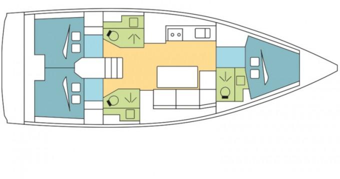Location yacht à Kos - Dufour Dufour 390 Grand Large sur SamBoat