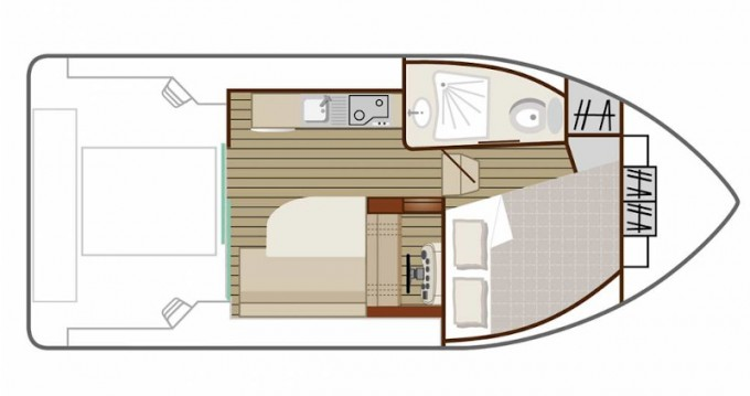 Location yacht à Avignonet-Lauragais -  Sedan Primo sur SamBoat