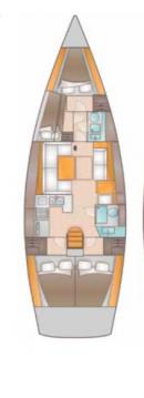 Location bateau Kaštela pas cher Salona 44