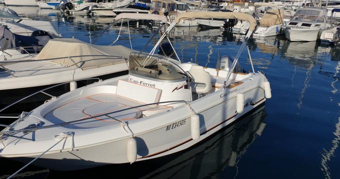 Louez un B2 Marine Cap Ferret 650 Open à Antibes