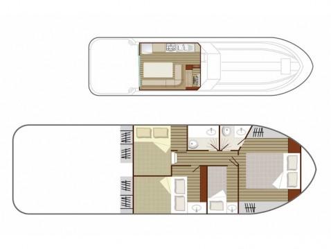 Location yacht à Lübz -  Sedan 1160 sur SamBoat