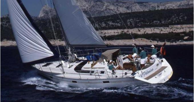 Bénéteau Oceanis 350 entre particuliers et professionnel à Procida