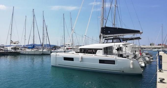 Location bateau Palma de Majorque pas cher Lagoon 40