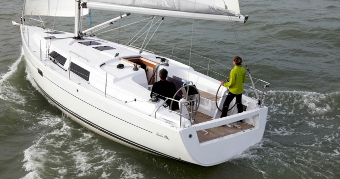 Location yacht à Cogolin - Hanse Hanse 375 sur SamBoat