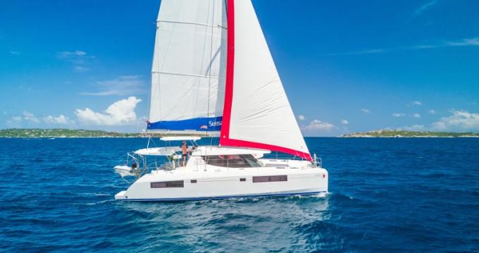 Location Catamaran à Oyster Pond - Leopard Sunsail 454L