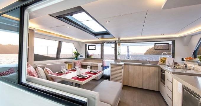 Location yacht à Oyster Pond - Leopard Sunsail 454L sur SamBoat
