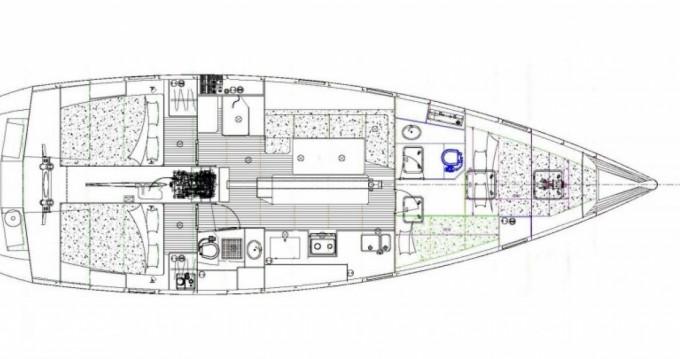 Location bateau Longyearbyen pas cher Ovni 445