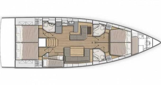 Location yacht à Cannigione - Bénéteau Oceanis 51.1 sur SamBoat