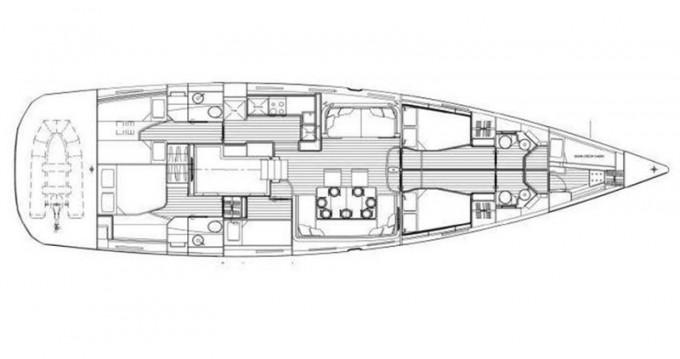 Location bateau Sibenik pas cher Jeanneau 64