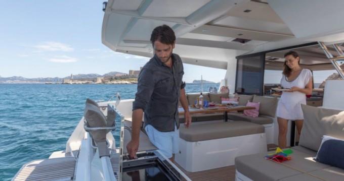 Location yacht à Ibiza (Ville) - Fountaine Pajot Astrea 42 sur SamBoat