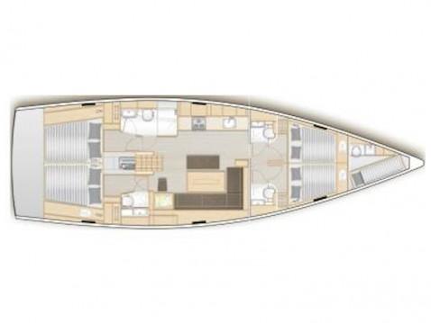Location bateau Hanse Hanse 508 à Lávrio sur Samboat