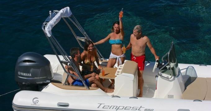Location yacht à Saint-Laurent-du-Var - Capelli Tempest 650 sur SamBoat