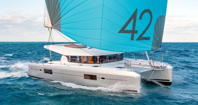Location bateau Marina Cay pas cher Lagoon 42