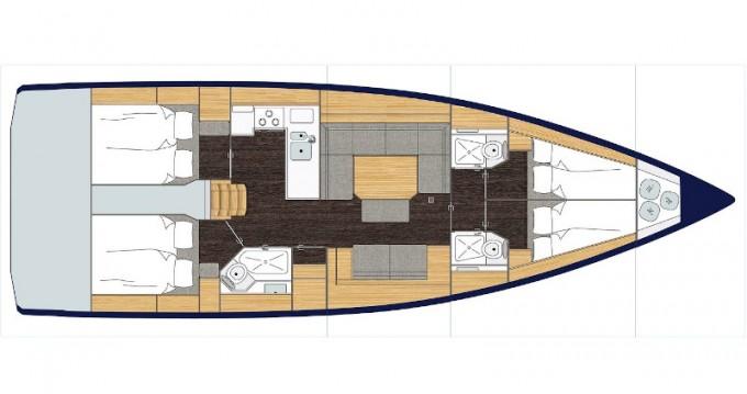 Location bateau Volos pas cher Bavaria C45